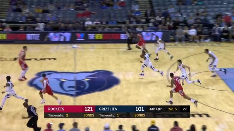 Memphis Grizzlies Full Highlights vs. Houston Rockets - 10/12/18