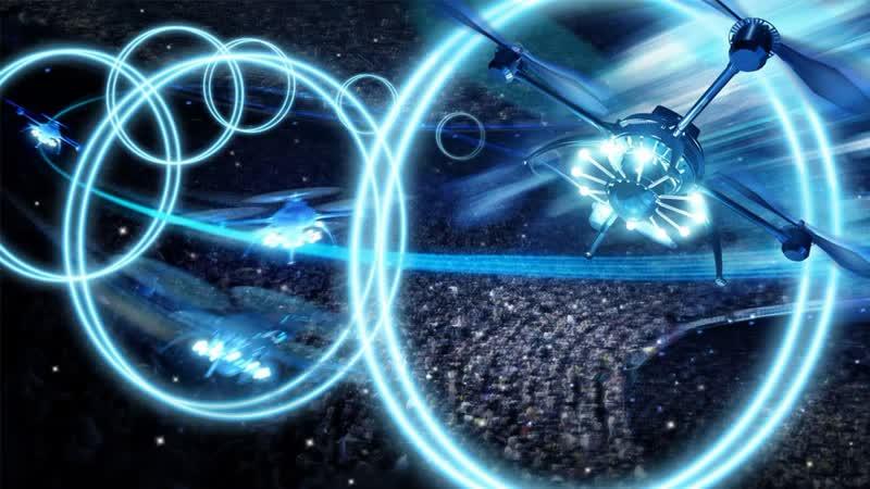 Шоу Дронов на ваше Мероприятие! Заказ-Аренда Робот Мода drone show robotmoda www.robotmoda.ru