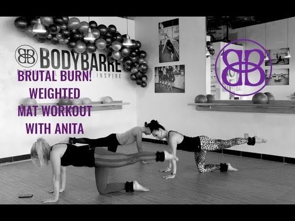 🔥💣 SO....MUCH....BURN. 💣🔥 Ankle Weight Mat Workout with Anita