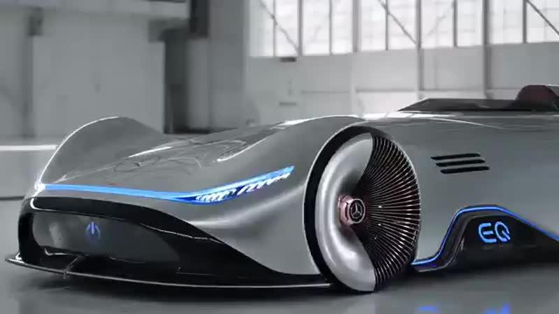 Vision EQ Silver Arrow - электрический концепт от Mercedes-Benz - Полезное образование