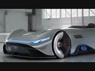 Vision EQ Silver Arrow - электрический концепт от Mercedes-Benz -