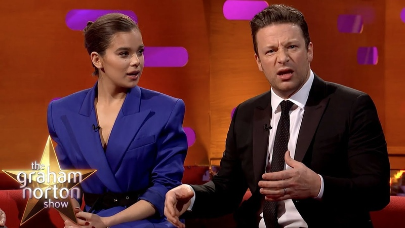 Hailee Steinfeld Is Blown Away By Jamie Oliver Giving His Nan VIAGRA!