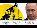 Нефть-матушка ниже $60 за баррель   Бензин цены вверх   Рейтинг Путина вниз.