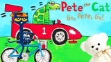 Pete the Cat Go Pete Go by James Dean Children's book read aloud Storytime With Ms. Becky