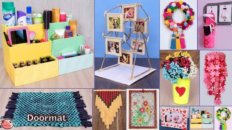 10 Multi Purpose... DIY Room Decor Organization Idea 2019 || DIY Project