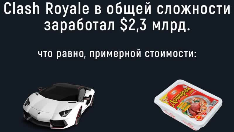 [AuRuM TV] В CLASH ROYALE ЗАДОНАТИЛИ $48 ЛЯМОВ ЗА МЕСЯЦ