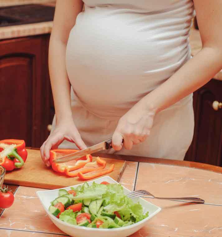 Во время беременности уровень прогестерона в организме постепенно увеличивается