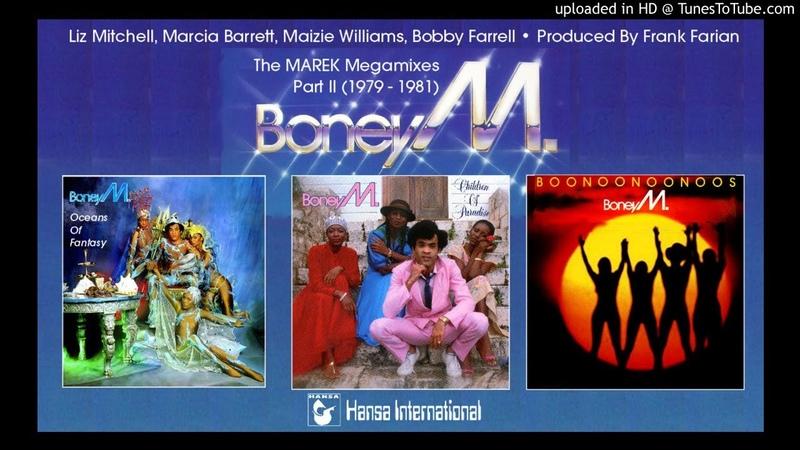 Boney M The Marek Album Megamixes Part II 1979 81