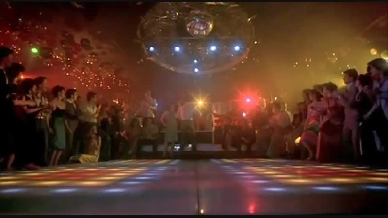 John Travolta Dances to House Music Mix