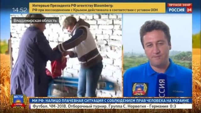 Новости на Россия 24 • Вести с полей где самый вкусный сыр