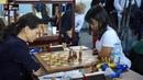 Dramatic final game: Ju Wenjun vs Kosteniuk for gold medal   Batumi Olympiad 2018   Russia vs China
