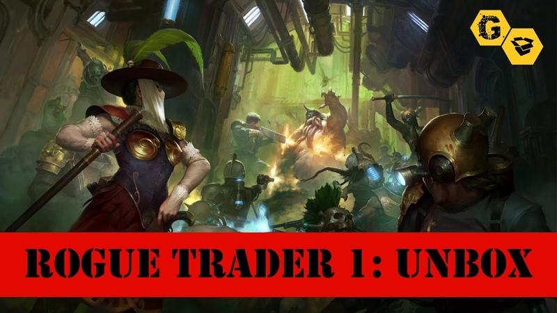 Kill Team: Rogue Trader. Анбокс