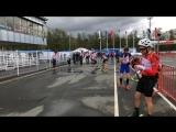 Первенство России по биатлону. Роллеры-эстафета 4х7.5 км юниоры