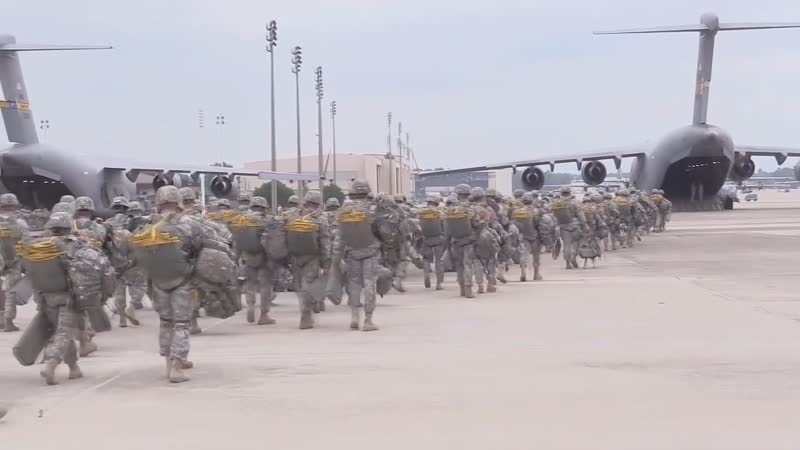 U.S. Army large-scale deploy in support of Atlantic Resolve mission in Europe.