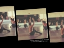 In rehearsal with the Martha Graham Dance Company