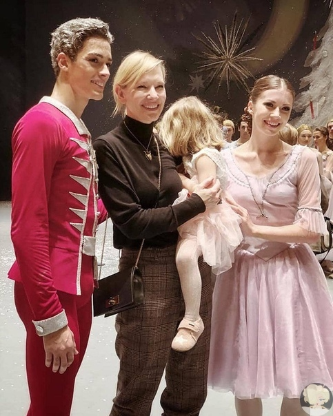 Кейт Бланшетт заметили в Москве!