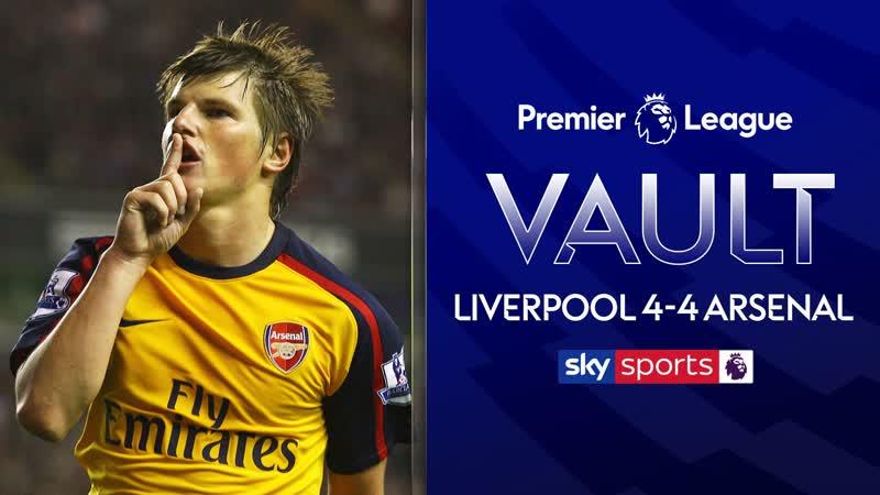 PL Vault Liverpool 4 4 Arsenal 2009