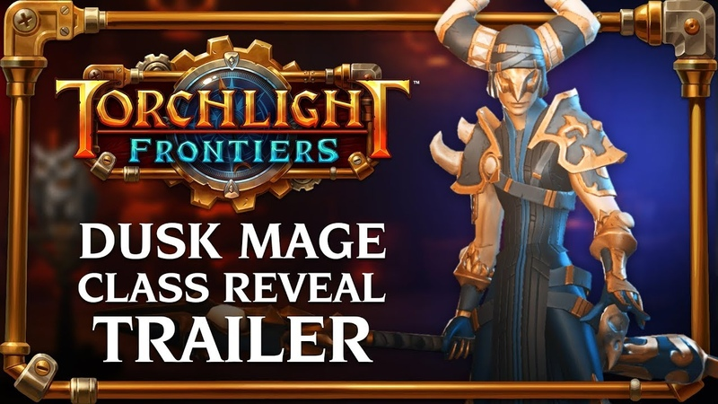 Torchlight Frontiers | Dusk Mage Class Reveal Trailer
