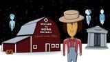 Hallowen история убийцы #3 духи мёртвых, ферма кизары, девкозавр, подарок тентасьону и шапка фары
