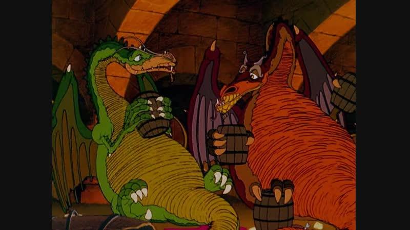 Полет драконов / The Flight of Dragons. 1982
