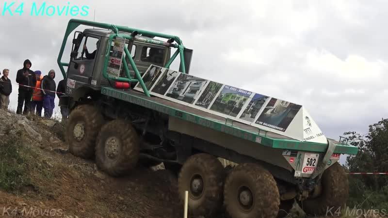 8X8 Mercedes-Benz truck _ Truck trial _ Elbingerode 2017 _ no. 502