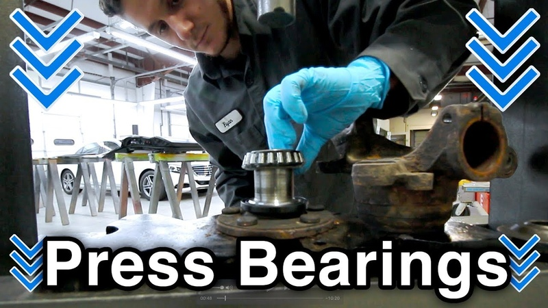 How to Press Wheel Bearings, Hub Knuckle [Automotive CTE] (COMPLETE TUTORIAL w Pro Tips)