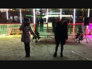 Лина Блестящая feat. Руслан Надршин  Не скажу  Новогодняя FIESTA '19