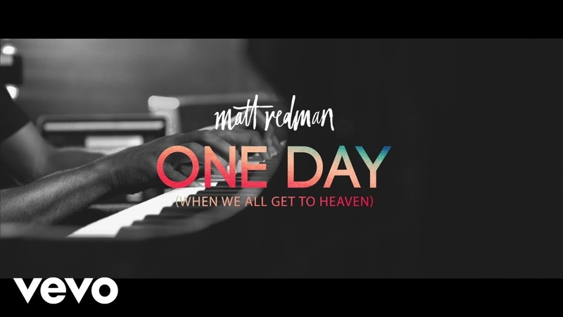 Matt Redman One Day When We All Get To Heaven LIve From Belfast Waterfront