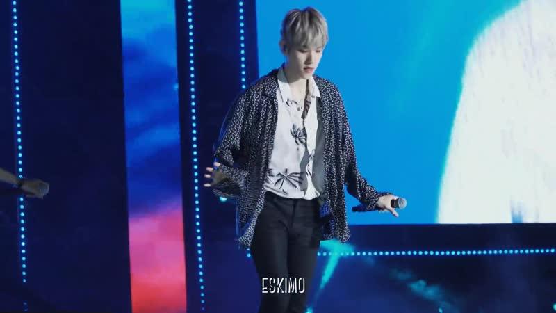 [FANCAM] 180623 27th Lotte Family K-Wave Concert @ EXOs Baekhyun — Power