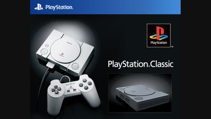 PlayStation Classic mini HD ..NEW-2018