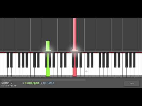 Piano Tutorial Nine Inch Nails The Frail live