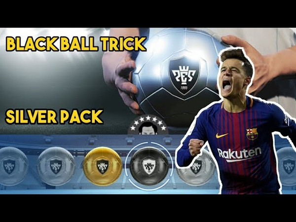 BLACK BALL TRICK IN SILVER PACK PES 2019 MOBILE    PART 2