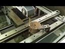 Резка пуансона для трубогиба на электроэрозии