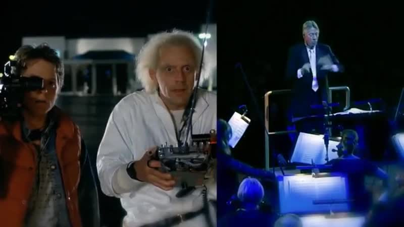 Back to the Future with composer Alan Silvestri conducting in Vienna