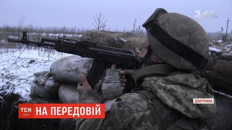 Російсько окупаційні війська обстрілюють українські позиції на Донеччині