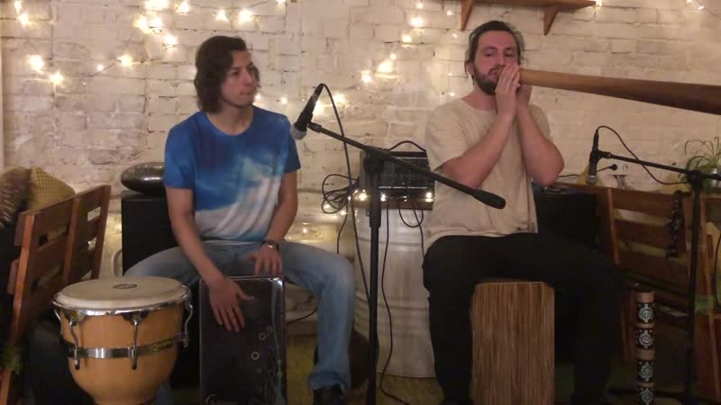 Forest Jam Project - Didgeridoo and cajon dnb jam in Ra Family