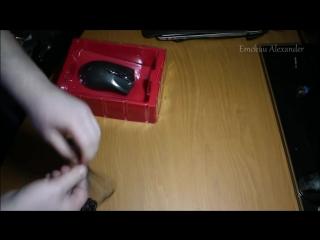 [Emckuu Alexander] Бюджетный набор геймера. Распаковка клавиатуры, мышки и коврика.