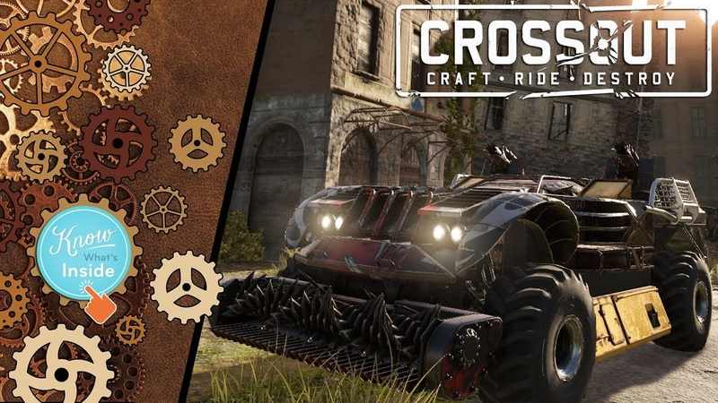 Crossout: Assembling car 113 - haj_cat [ver. 0.10.0]