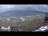 Odessa1.com - Черное море в прямом эфире, пляж Лузановка, Одесса, Black Sea, Odessa. Live