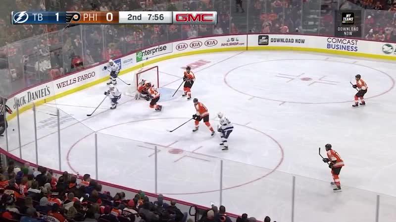 Tampa Bay Lightning vs Philadelphia Flyers Nov 17, 2018