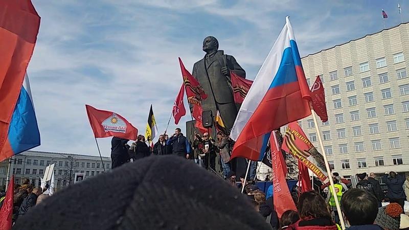 Выступление А.В. Афанасьева , депутата Архангельской городской Думы от КПРФ