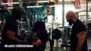 CT Fletcher Плюшевая Борода Тренирует Сына
