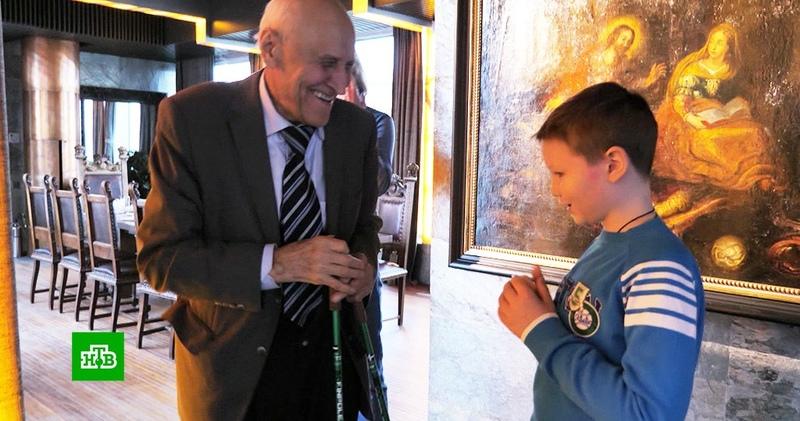 Николай Дроздов исполнил мечту онкобольного школьника