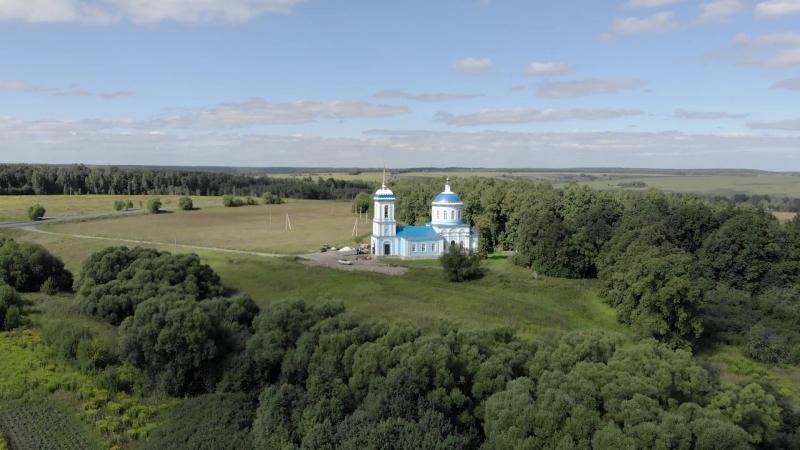 Свято Покровский храм села Романово Киреевского района Тульской области