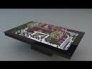 Голографический макет жилого квартала Life-Приморский