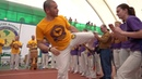 Azul troca de cordas em Belgorod 2019 AXE Capoeira