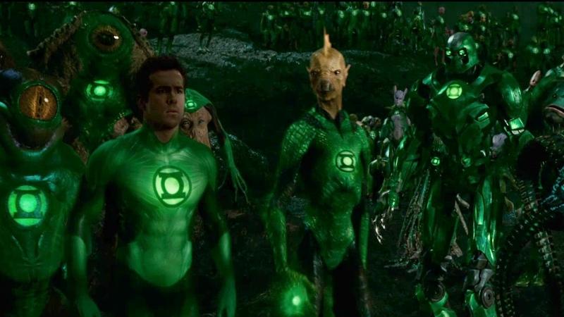 Первый полёт - Зелёный фонарь - Green Lantern Corps | Green Lantern Extended cut