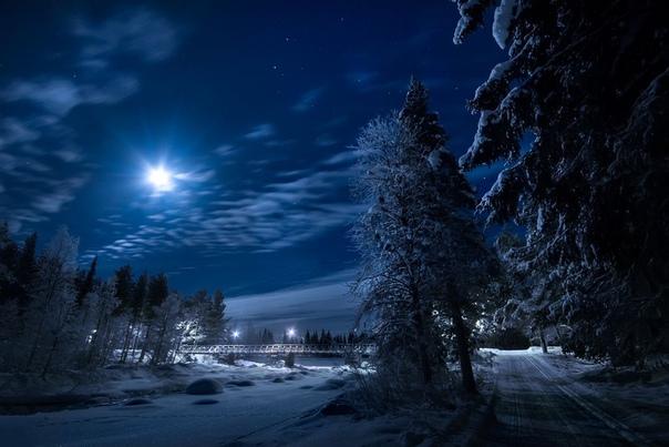 Пусть для вас этот зимний вечер будет добрым  -