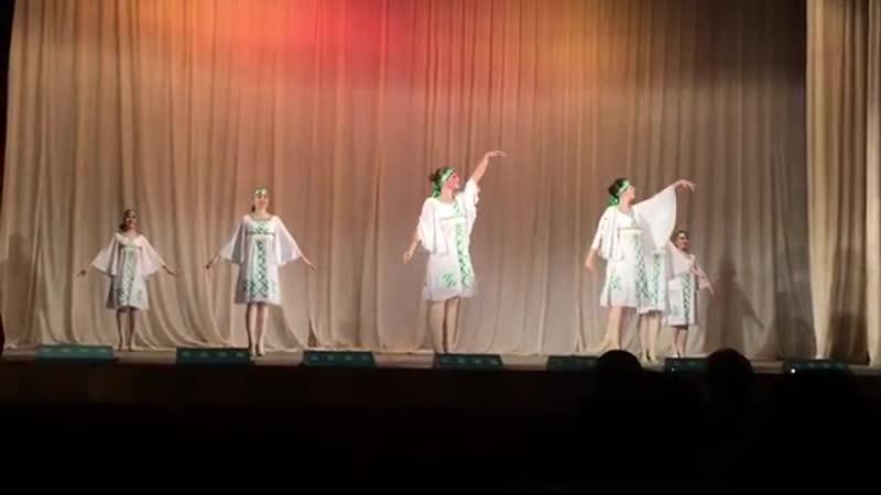 Марийский лирический танец - Кумыл (Ансамбль танца Фантазия)