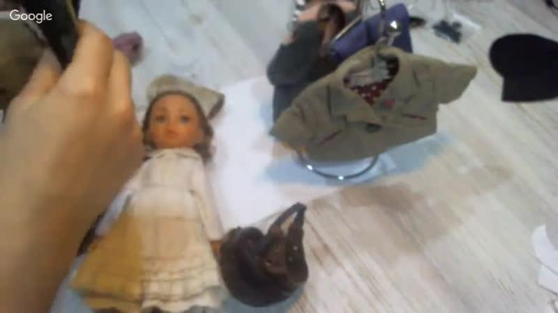 Береты и кепки для кукол и тедди, Кукольная мастерская, Альбина Глумова